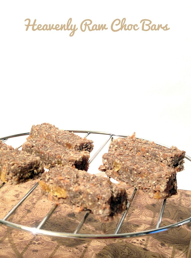 Heavenly Raw Choc Bars | Wellness by sam