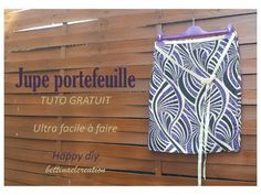 HAPPY Diy : la jupe super méga facile à faire Bettinael.Passion.Couture.Made in france