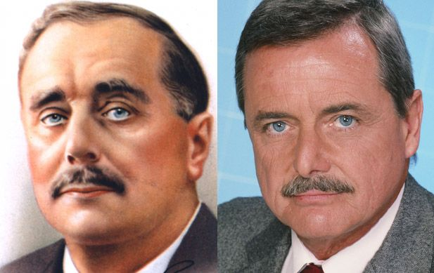 H.G. Wells - William Daniels  (Images of Andrew Jackson and John Kerry   provided by Getty Images)