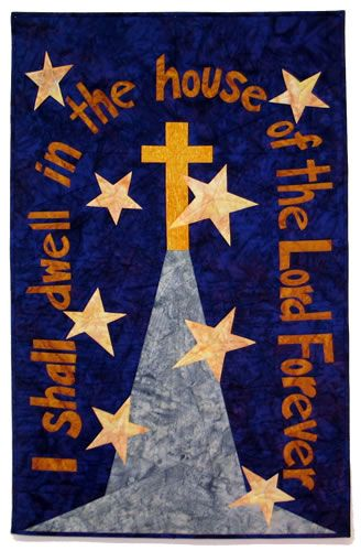 """Church Banner """"With Him Forever"""" (Kit)"""