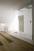baignoire douche encastrable / rectangulaire / en composite