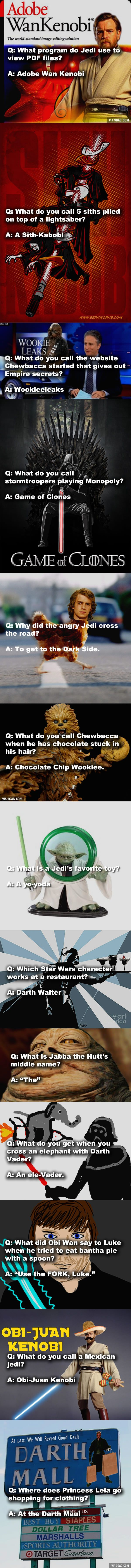 13 Creative Star Wars Jokes For Fans That Might Need A Little Laugh
