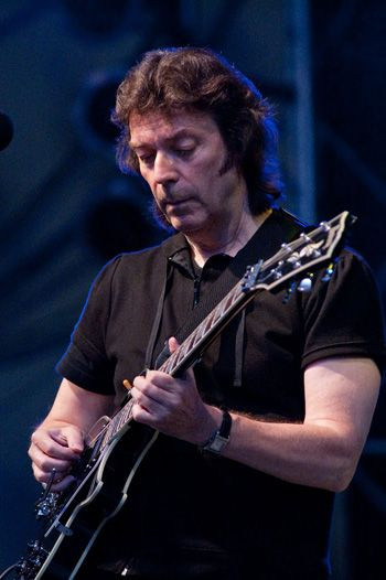 Steve Hackett.  He and Martin Barre, probably The most under rated, under appreciated guitarists