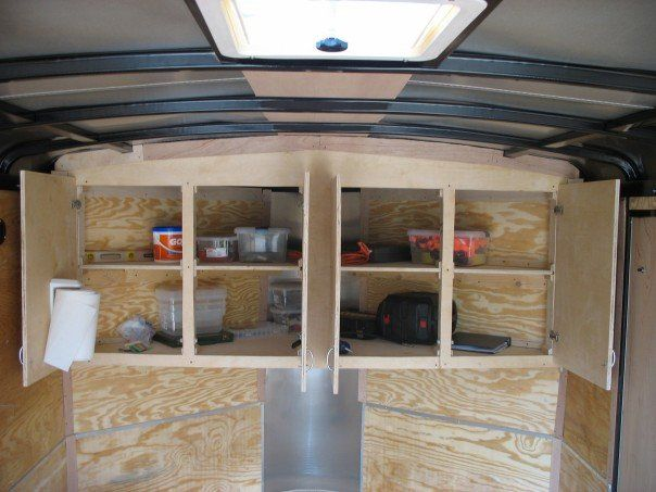 Enclosed Trailer Camper Google Search Camper Ideas