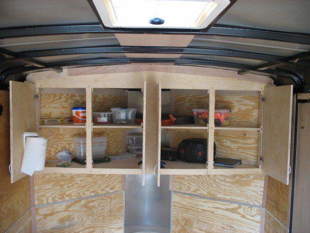 enclosed trailer camper - Google Search