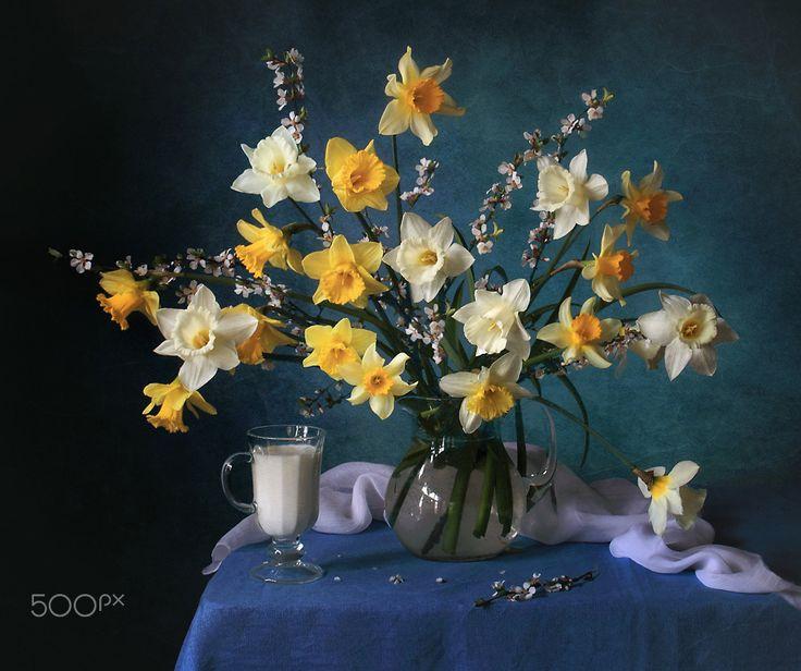 Spring still life - null