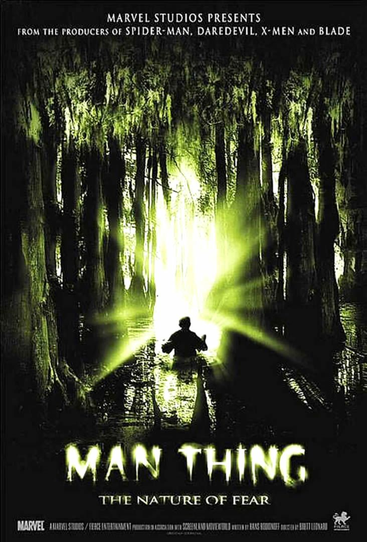 Image result for man-thing movie poster