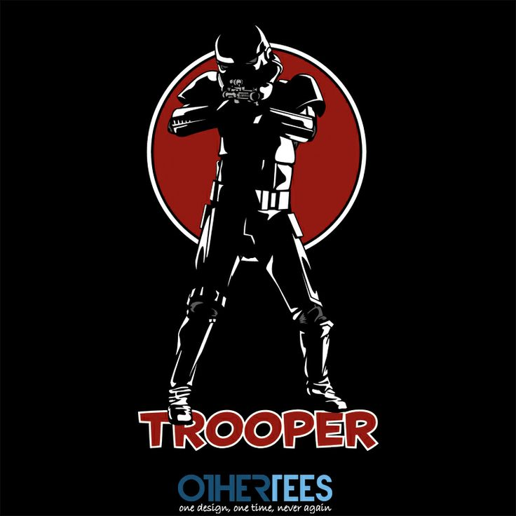 Tracy Wars VII: Trooper by chemabola8 Shirt on sale until 02 April on http://othertees.com #starwars #stormtrooper