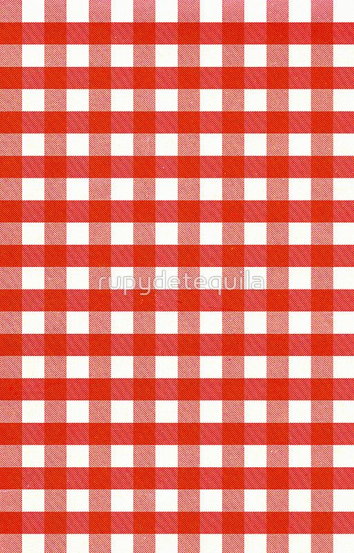 Red Gingham iphone6 case