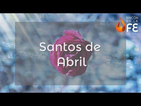 Santoral de Mayo – Calendario santoral católico - YouTube
