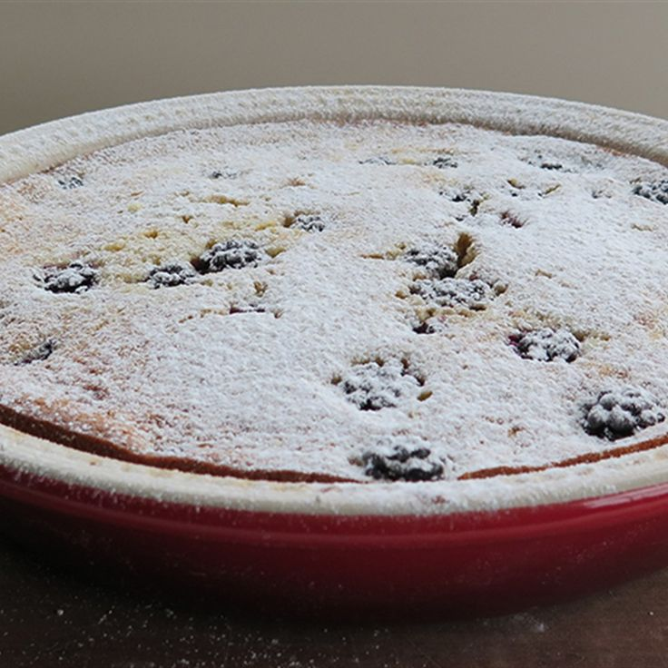 Try this Blackberry Clafoutis recipe by Chef Paul West . This recipe is from the show River Cottage Australia.