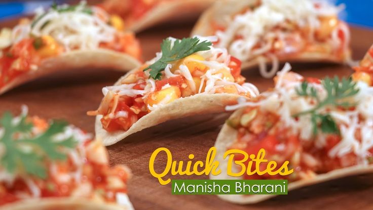 Quick Bites  - Quick & Easy Party Starter Snack Bites - Indian  Appetize...