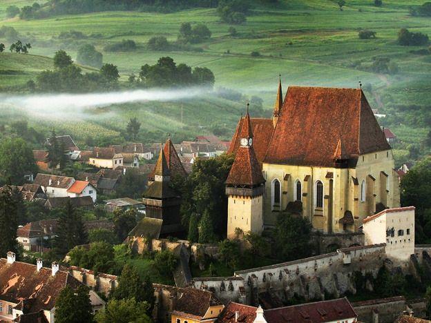 The  fortified church from Biertan. UNESCO Heritage Site. Sibiu.