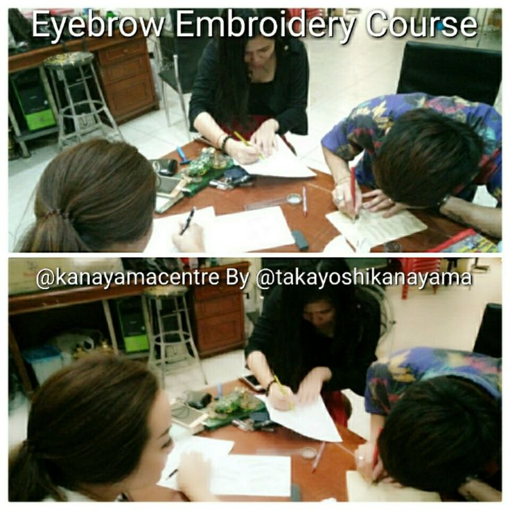 Kanayama Eyebrow Embroidery Course