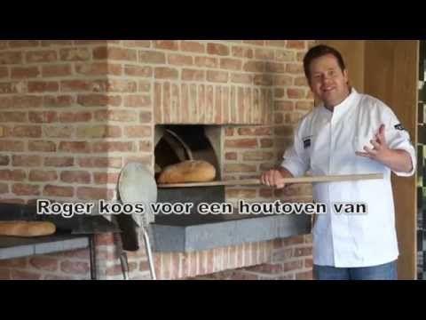 BROOD BAKKEN MET ROGER VAN DAMME IN DE HOUTOVEN - YouTube