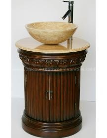 Hand Crafted Two Doors Vessel Sink Bathroom Vanity HY-0160-T from Discount Bathroom Vanities