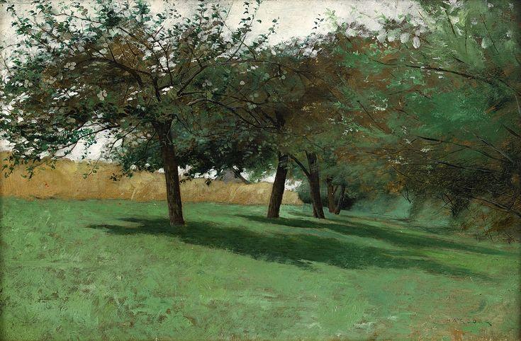 August Hagborg, Fransk fruktträdgård