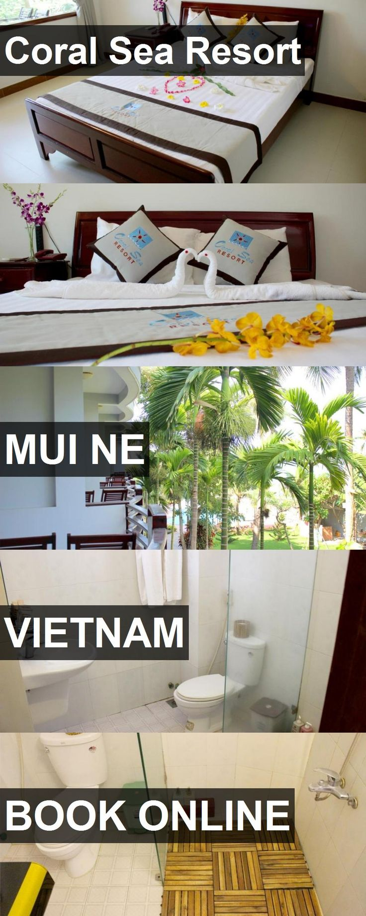 Hotel Coral Sea Resort in Mui Ne, Vietnam. For more information, photos, reviews and best prices please follow the link. #Vietnam #MuiNe #travel #vacation #hotel