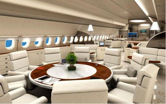executive luxury jumbo jets | Airbus A340-500 -ACJ -Ultimate Luxury Long Haul Business Jet