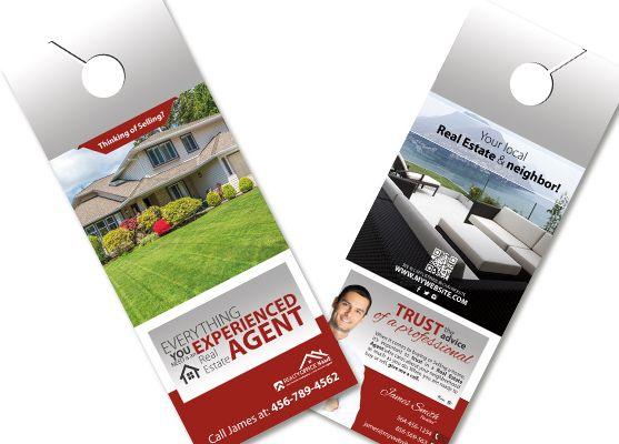 Door Hanger Design Real Estate