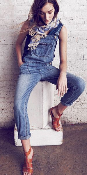 Park Overalls So Obsolete and cute sandals