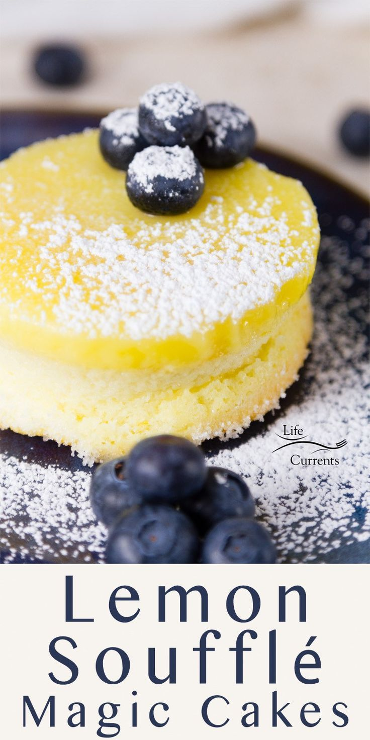 Lemon Soufflé Magic Cakes are light and airy sponge cakes topped with a lemon curd pudding. And, all you had to do was make one batter that magically separates while it bakes!