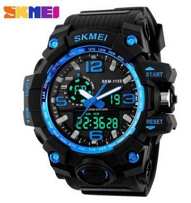 Super Cool Men's Quartz Digital Waterproof Wrist Watch