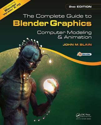The Complete Guide to Blender Graphics, 2nd edition,  helps beginners learn the basics of computer animation using Blender, the free and open source 3D computer modeling and animation program. Available at Campbelltown College Library #blendergraphics #computeranimation