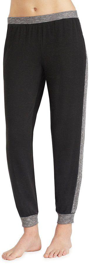Kensie Sweater Jogger Sleep Pants