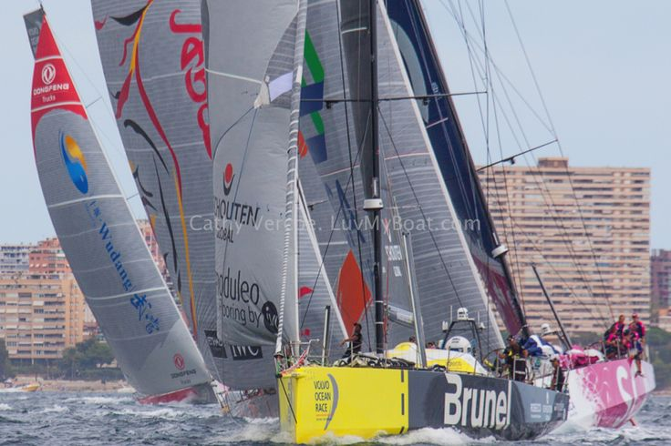 Volvo Ocean Race Start from Alicante, Spain, 2014/15