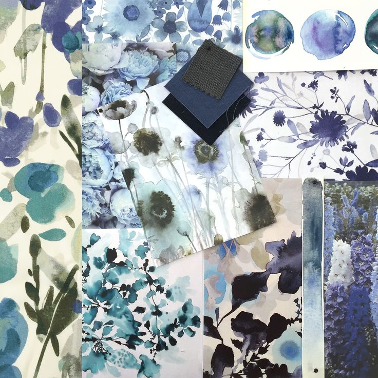 Warwick Fabrics Moodboard and Inspiration for our Ingrid Collection. #warwickfabrics #moodboard