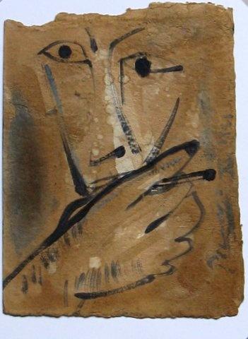 Picasso, Pablo (1881-1973) Man and Cigarette
