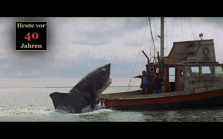 """""""Der weiße Hai"""" erobert die Leinwände: """"Jaws"""" wird 40"""