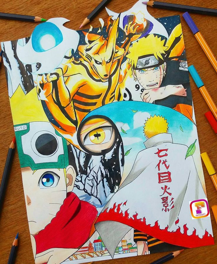 Naruto fanart done hope you like it guys .tell me what u think of it. Have a great day . --------------------------------…