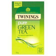 Twinings Pure Green Tea Bags 20'S 50g