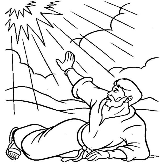 Apostle Paul Coloring Pages 4