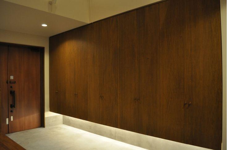 玄関ホール靴収納(Sハウス)- 玄関事例