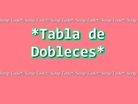 TABLA DE MARCAR (scoring board, marca Martha Stewart) tarjetas y sobre basico.wmv - YouTube