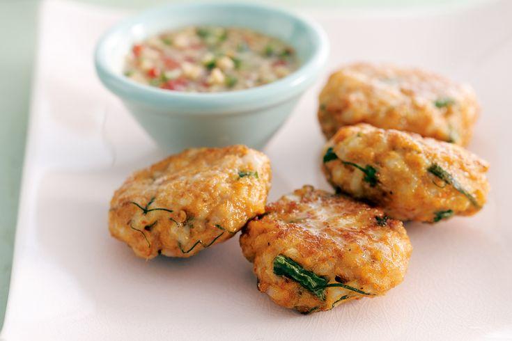 Thai Fish Cakes Recipe - Taste.com.au