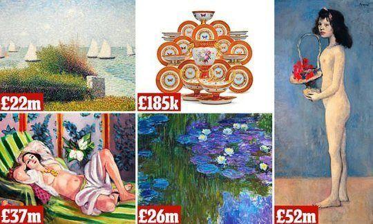 #Auction of #Rockefeller's art collection could fetch $1BILLION #ProAuction