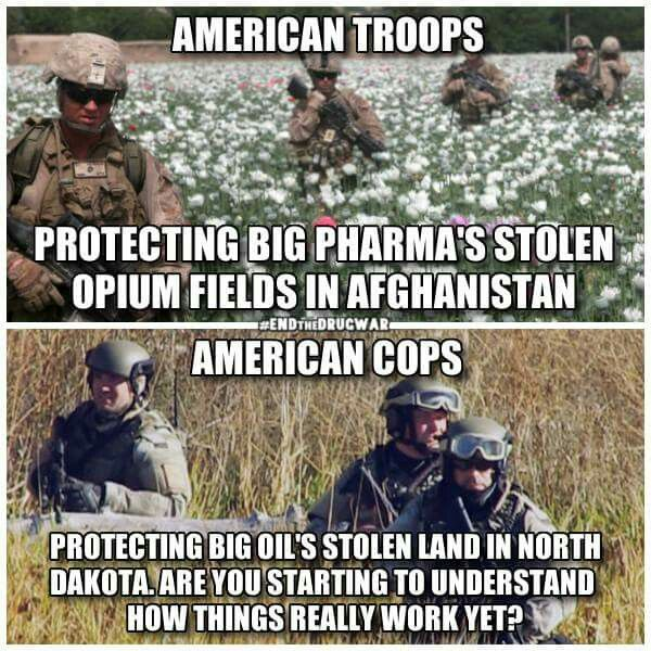 The American empire is the largest drug dealer in the world? Say it isn't so. Well, in addition to forcing legal drugs and genetically modified organisms on nations, usually under the cover of foreign aid, America also leads in the illegal drug trade. http://www.activistpost.com/2011/11/10-reasons-america-will-be-judged-as.html .. Most president campaigns are financed with drug money