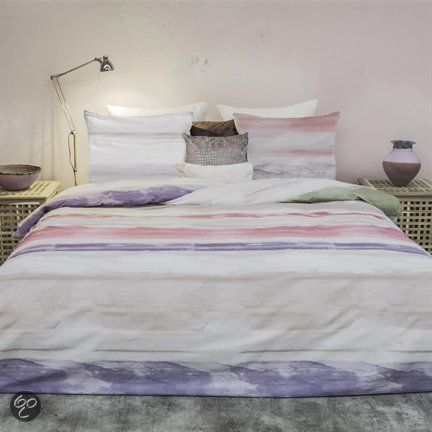 HnL Pure Cotton Tijn dekbedovertrek - Rood - Lits-jumeaux (240x200/220 cm + 2 slopen)