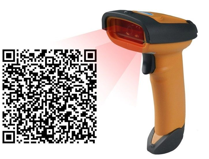 132.00$  Buy now - http://alizgp.shopchina.info/go.php?t=32809330498 - Supermarket 1D&2D QR code reader Drop resistance and Shockproof PDF laser scanner Handheld scan gun for pos system 132.00$ #magazineonlinewebsite