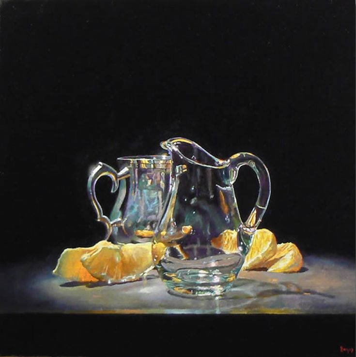 Jeffrey Hayes: Silver, Glass, and Oranges