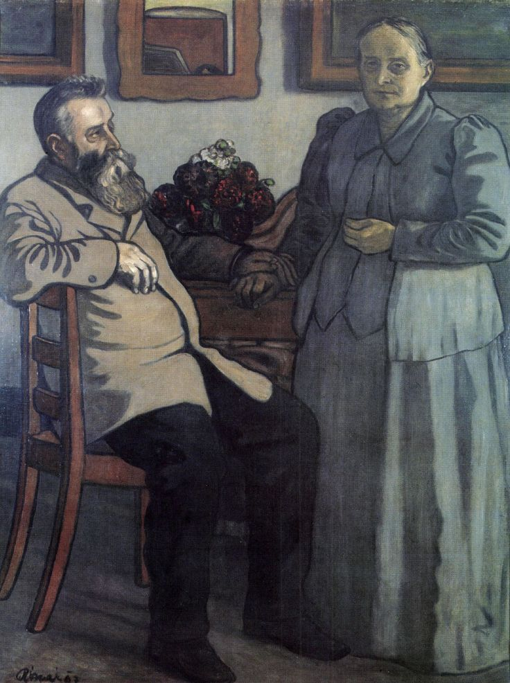 My Parents after Fourty Years of Marriage  - Jozsef Rippl-Ronai
