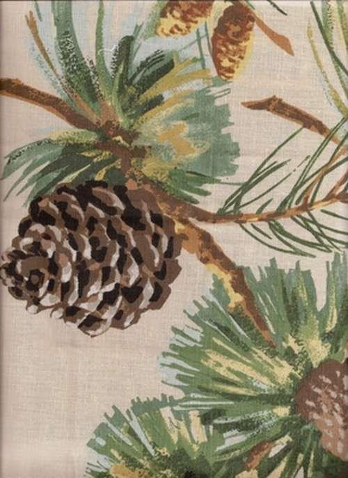 Evergreen Fabric From Grey Watkins Cream