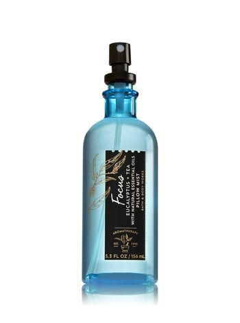 Bath Body Works Aromatherapy Focus Eucalyptus Tea Pillow Mist