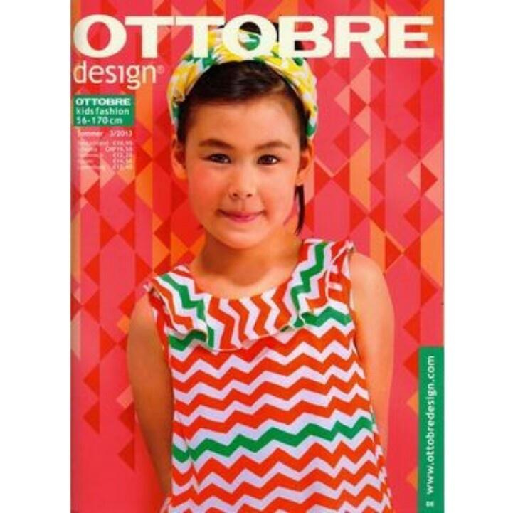 #Ottobre design - das #Magazin für #Mode zum selbst nähen. Das neue Heft für #Kids - Ausgabe #Sommer ist jetzt im Handel zu kaufen - überall, wo es gute #Zeitschriften gibt oder direkt hier bestellen - per Doppelklick aufs Cover.