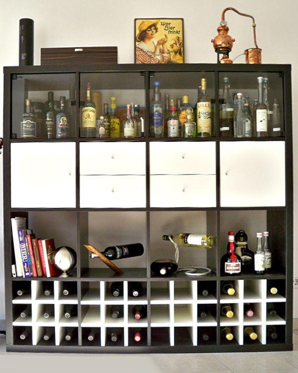 69 best EXPEDIT Regal Pimps images on Pinterest Ikea kallax - ikea regale kallax einrichtungsideen