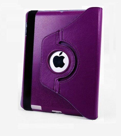 OEM Περιστρεφόμενη 360 μοίρες Θήκη Case stand - Μωβ (iPad mini / mini Retina / mini 3) - myThiki.gr - Θήκες Κινητών-Αξεσουάρ για Smartphones και Tablets - Χρώμα μωβ